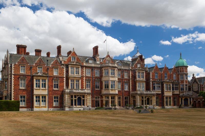 Sandringham House stock photo