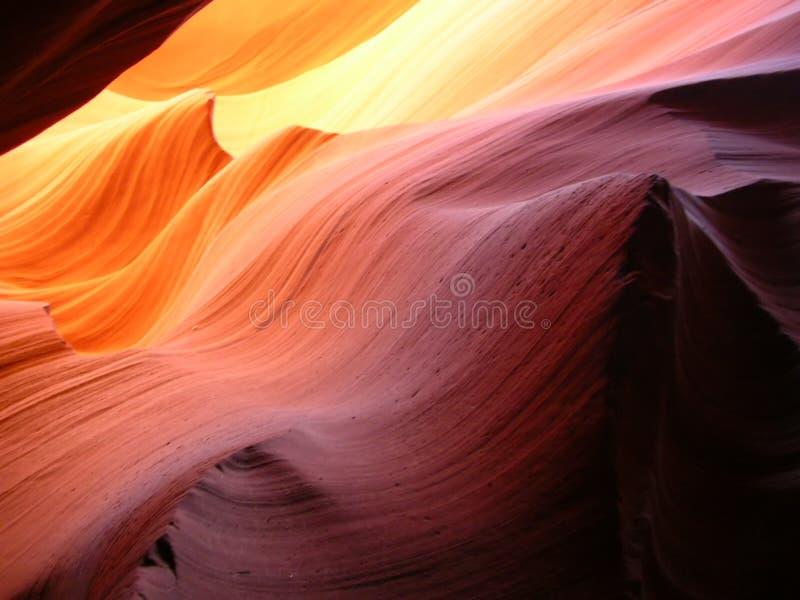 sandrock μορφές waivy στοκ φωτογραφία με δικαίωμα ελεύθερης χρήσης