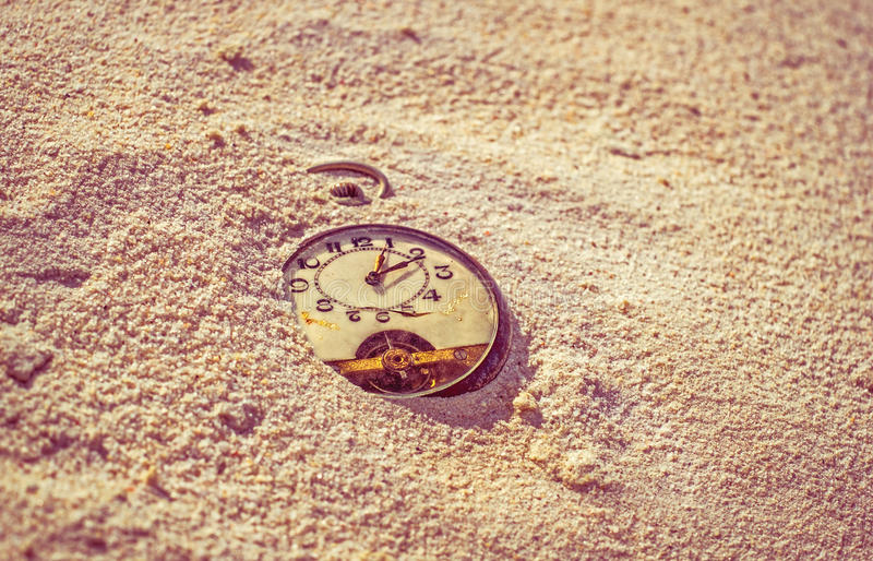Sands of time. royalty free stock photo