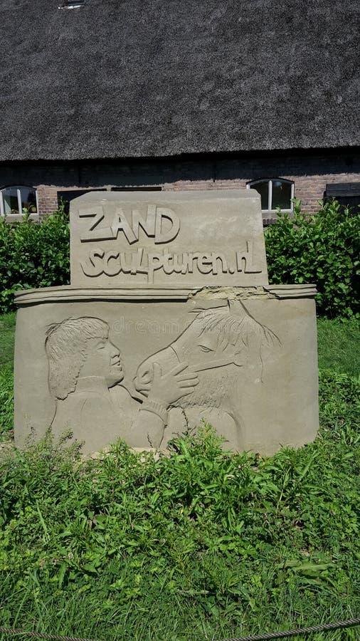 Sandsculpture 免版税库存图片