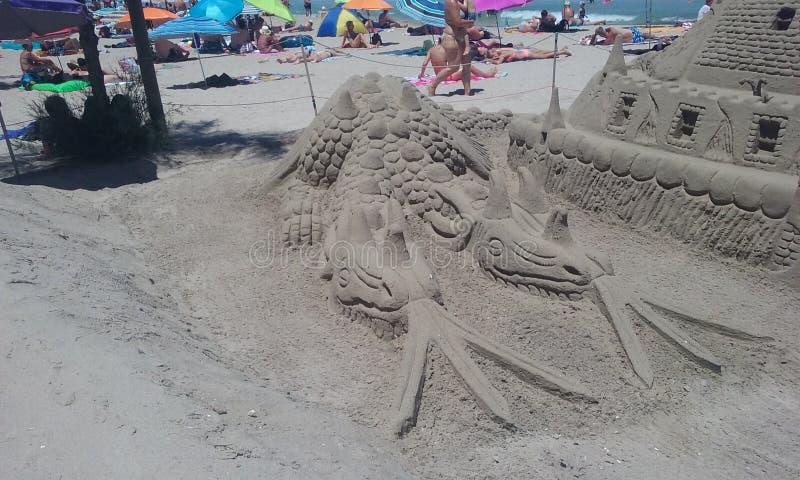 Sandskulptur lizenzfreies stockbild