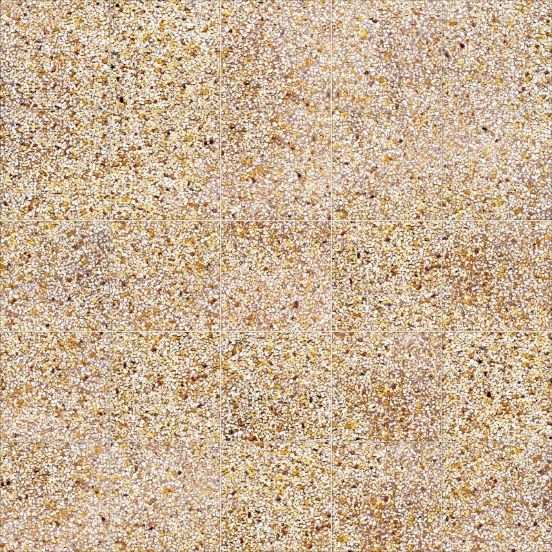 Sandstein deckt nahtlose Bodenbelagbeschaffenheit für Hintergrund und Design mit Ziegeln stockfotos