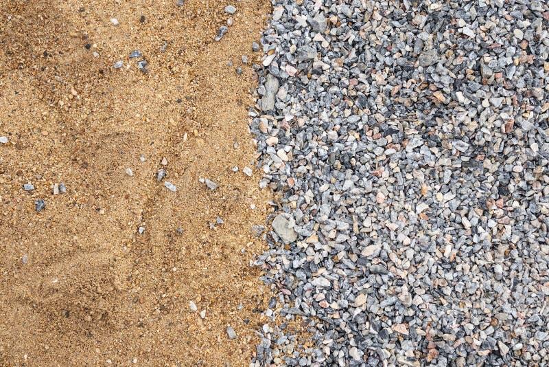 Sandsteinbeschaffenheitshintergrund an der Baustelle lizenzfreie stockbilder