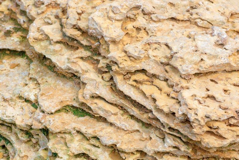 Sandstenlättnad Naturlig texturbakgrund royaltyfri foto