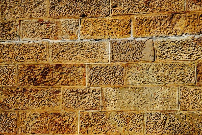 sandstenvägg royaltyfri foto