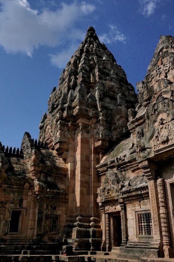 Prasat Hin Phanom Rung, Khmer Hindu temple. stock images