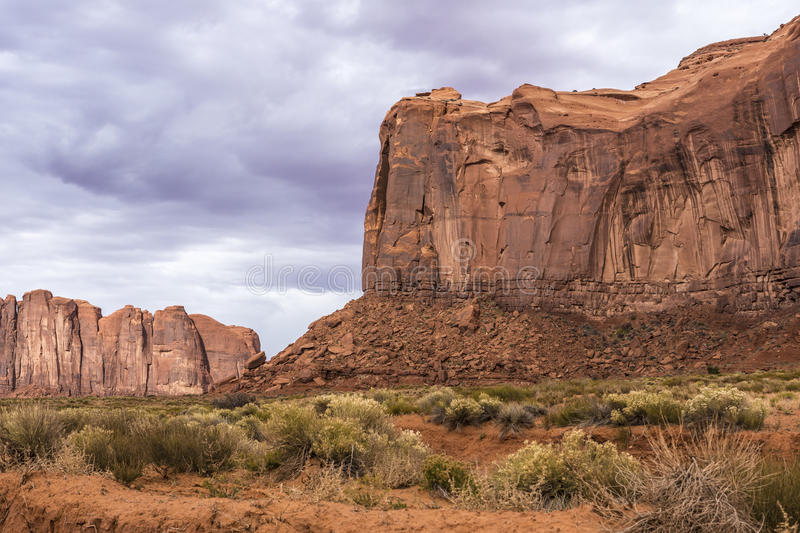 Download Sandstone Buttes In A Region Of The Colorado Plateau In AZ Stock Image - Image: 48537859