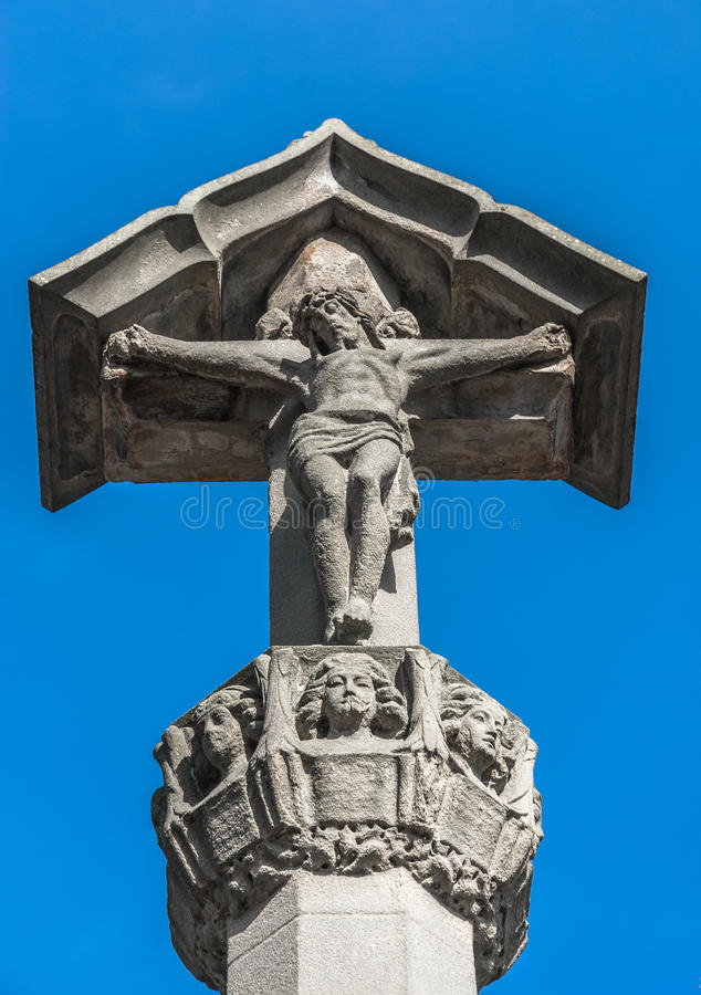 Download Sandstone Christ Stock Photo - Image: 40014945