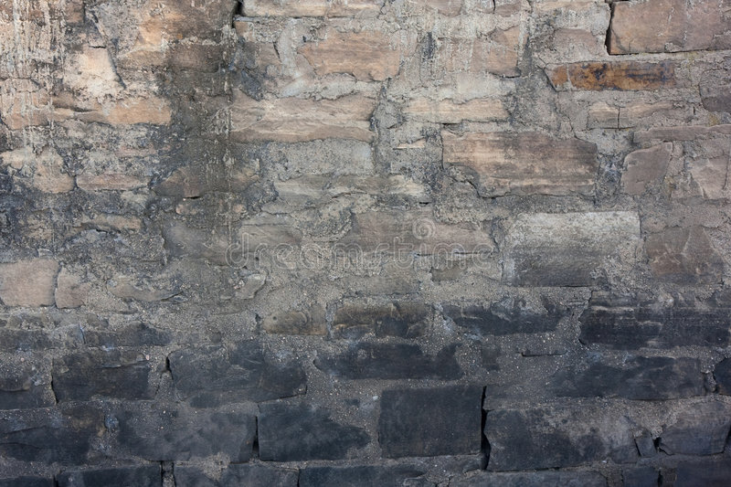 Download Sandstone And Concrete Wall Stock Image - Image: 7934907