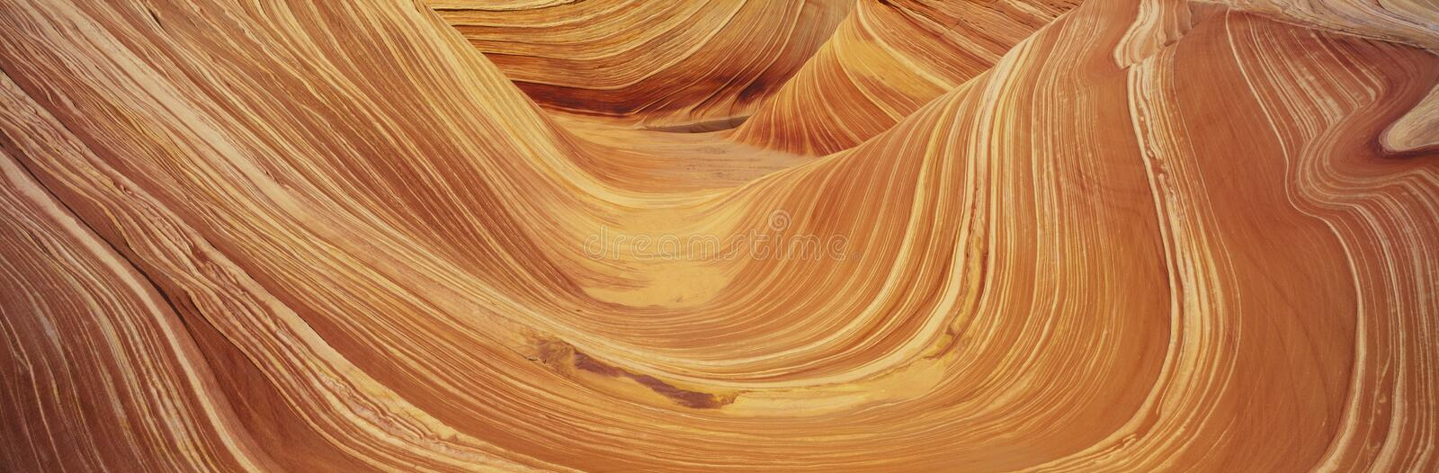 Sandstone Formation in Kenab, Utah stock image