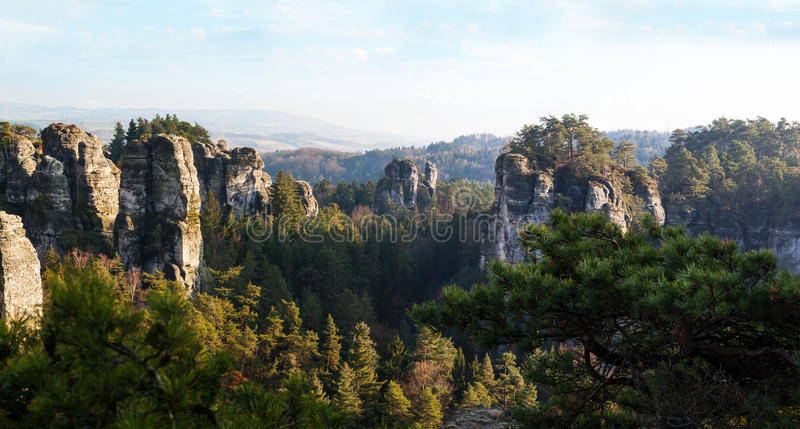 Download Sandstone Formations In Bohemian Paradise Stock Image - Image of high, nature: 39512245