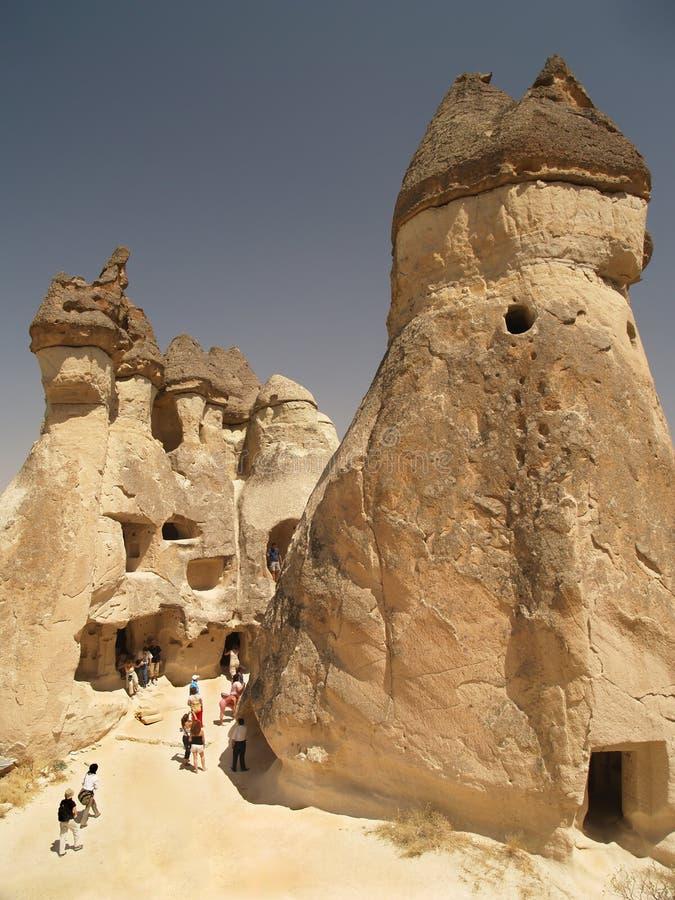 Sandstone formations in Cappadocia