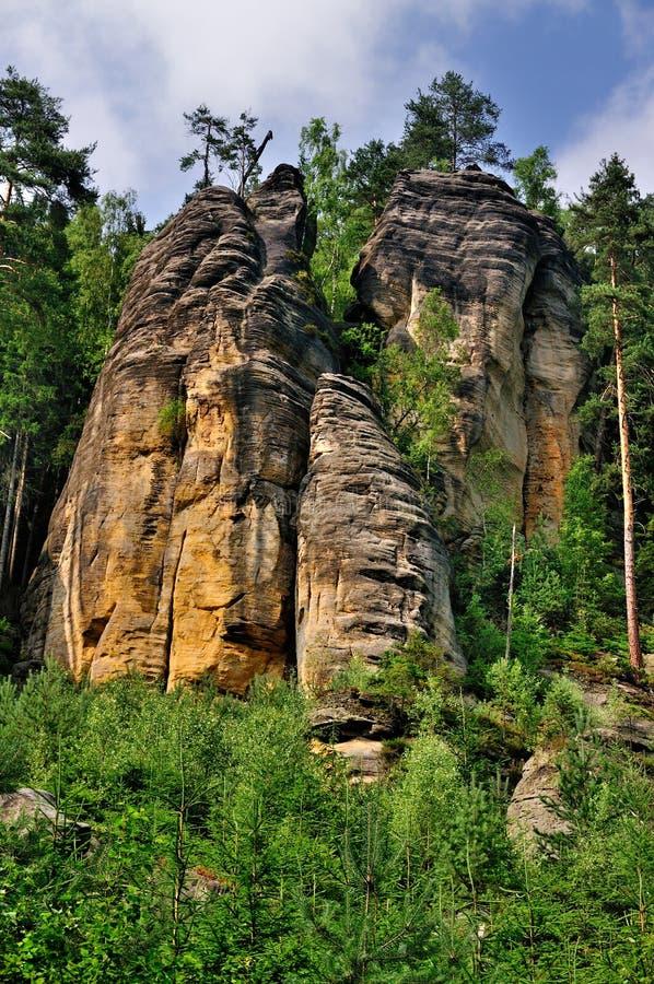 Free Sandstone Formations, Czech Republic Stock Photo - 16235380