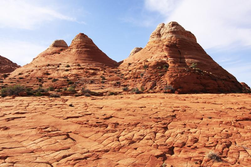 Download Sandstone Formations Near The Wave Stock Photo - Image of mountains, landscape: 14328722