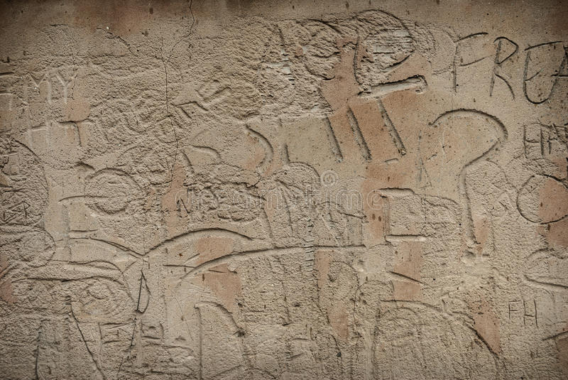 Download Sandstone Graffiti stock photo. Image of etched, wall - 37290170
