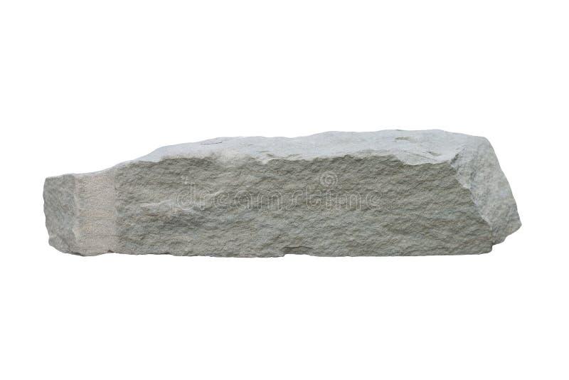 Sandstone isolated on white background. Sandstone isolated on white background included clipping path stock image