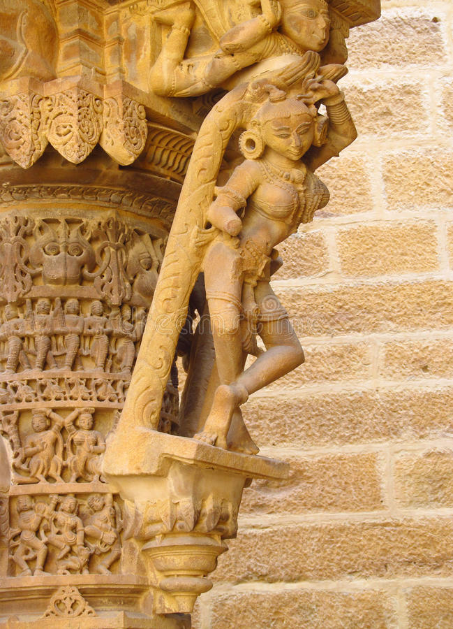Free Sandstone Sculptures Of People In India Royalty Free Stock Photo - 50913445