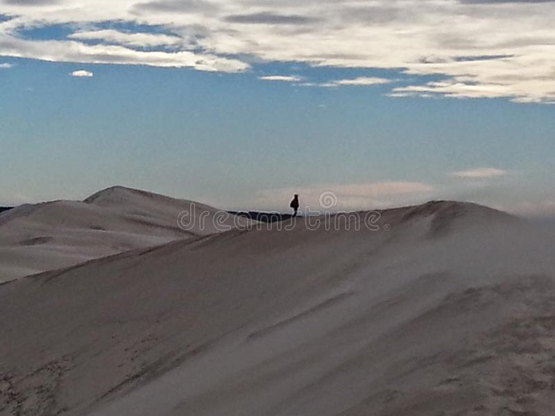 sandstorm стоковое изображение