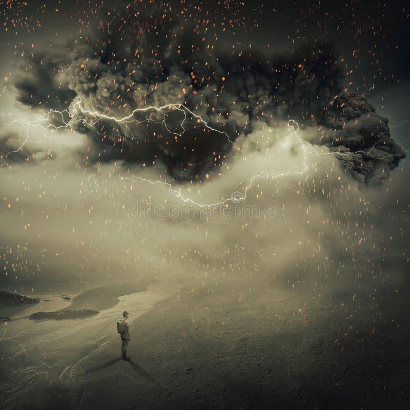 sandstorm zdjęcia stock