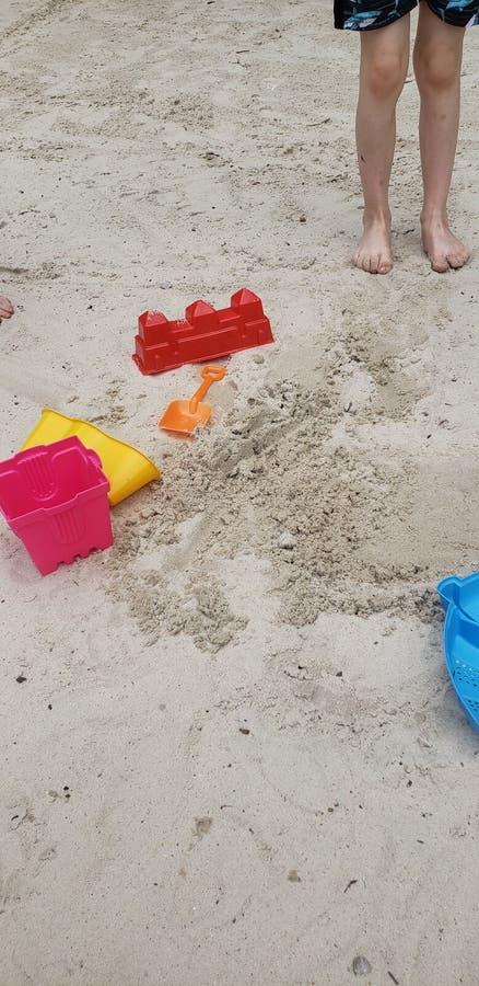 Sandtime = Funtime fotografie stock libere da diritti