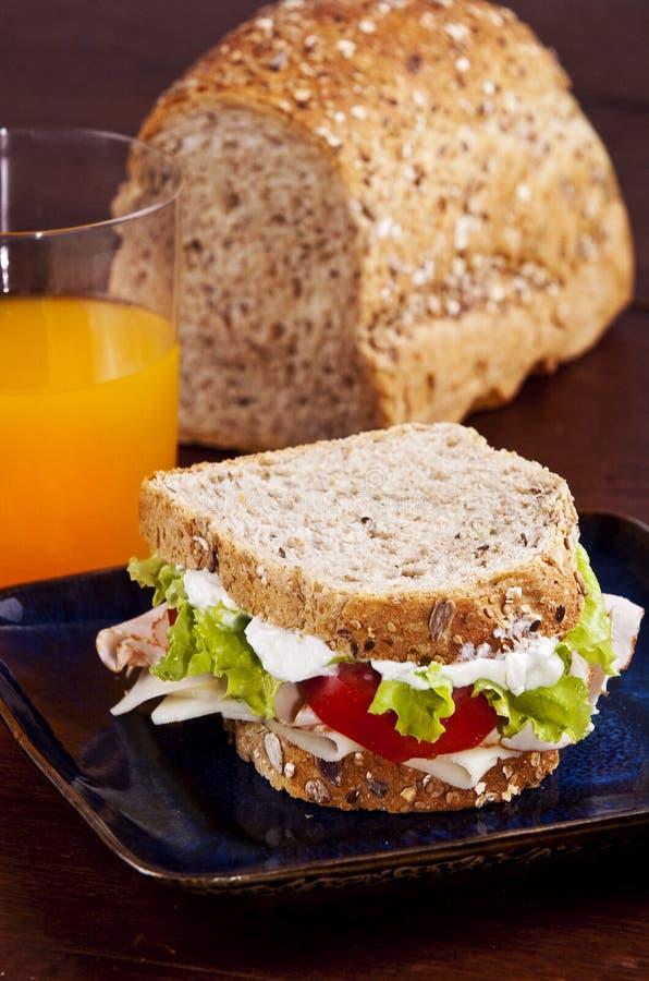 Download Sanduíche foto de stock. Imagem de calories, brunch, cortes - 10057322