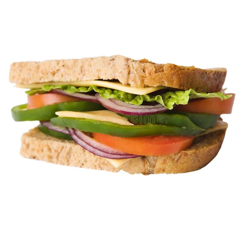 Sanduíche com queijo foto de stock