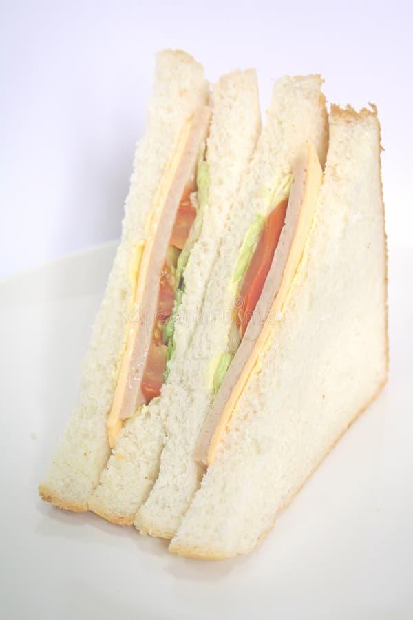 Sanduíche de presunto a refeição clássica fotos de stock
