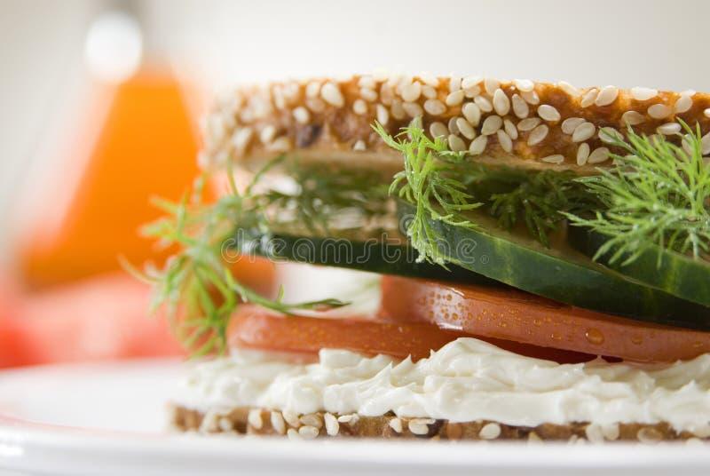Sanduíche do gourmet foto de stock royalty free