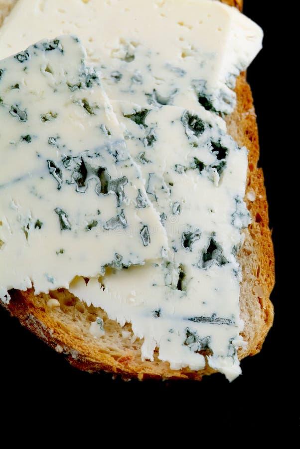 Sanduíche do queijo azul fotos de stock royalty free