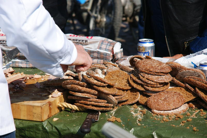 Sanduíche finlandês foto de stock