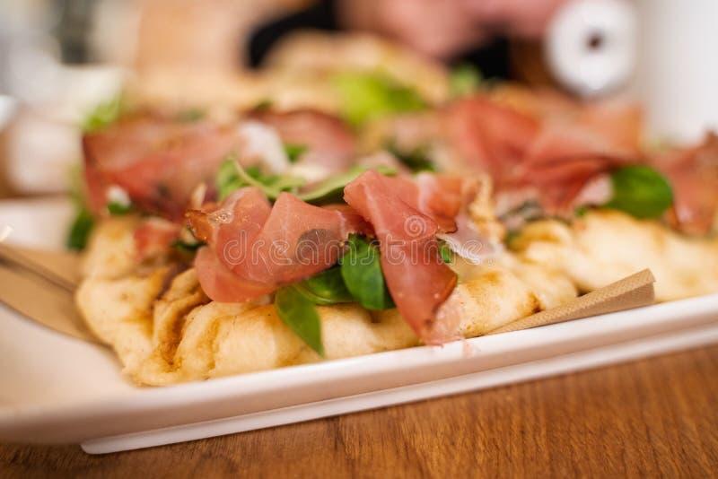 Sanduíche fresco do jamon foto de stock royalty free