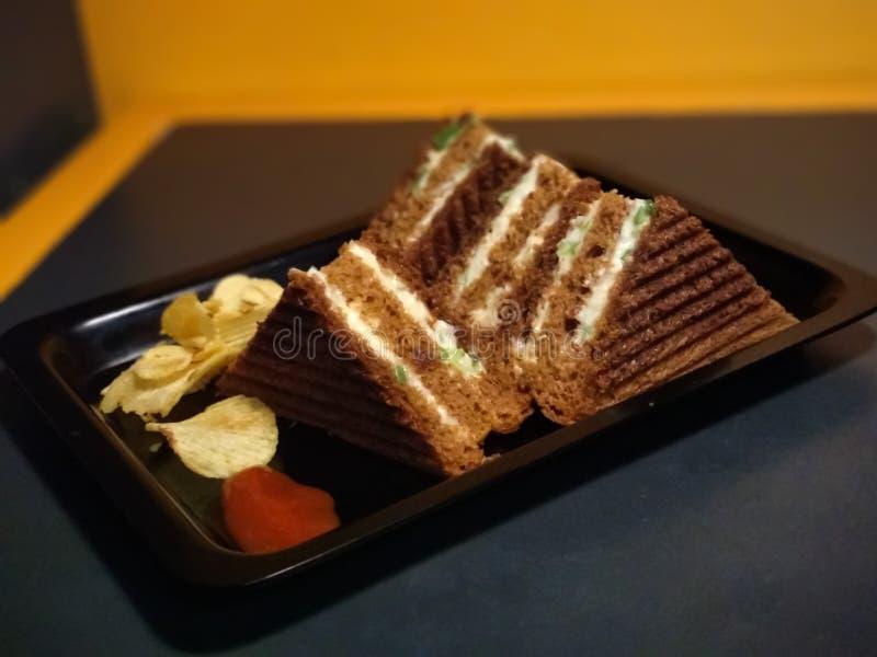 Sanduíche Mumbai do pão imagens de stock