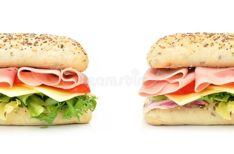 Sanduíche secundário imagens de stock