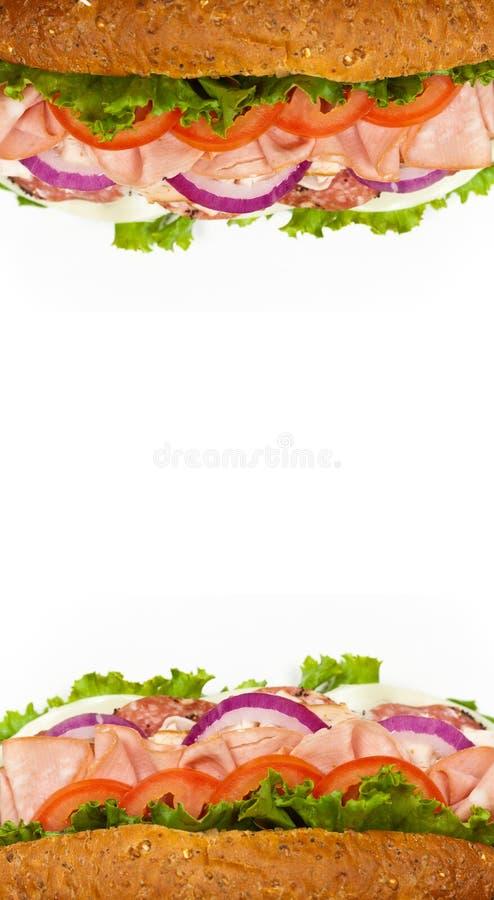 Sanduíche secundário italiano foto de stock royalty free