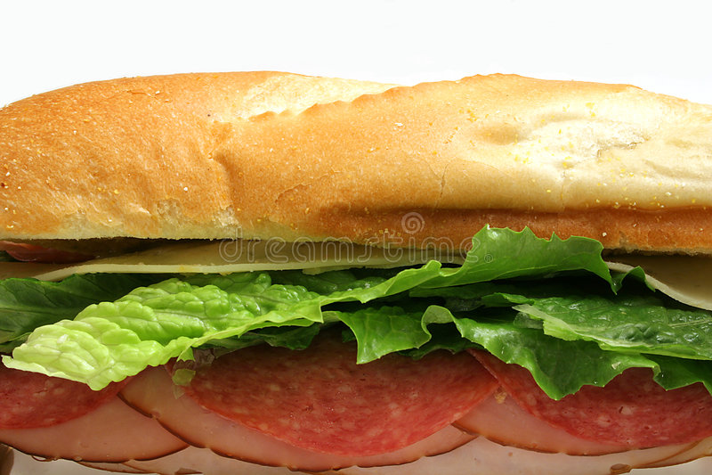 Sanduíche submarino imagem de stock royalty free
