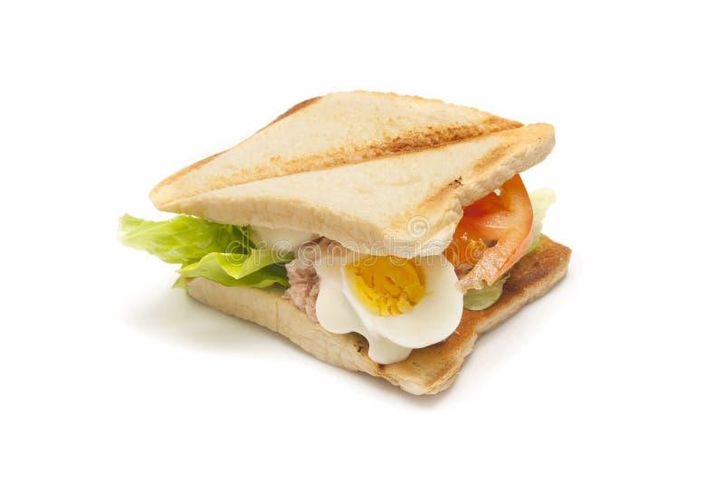 Sanduíche vegetal imagens de stock royalty free