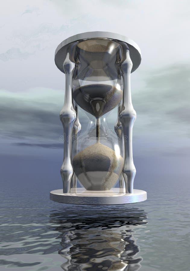 Sanduhr - 3D übertragen vektor abbildung