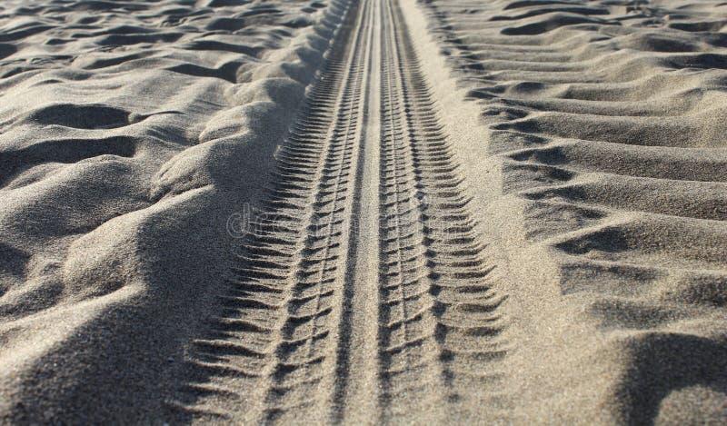 Sandvägdetalj royaltyfri bild