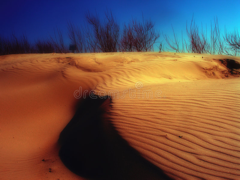 Sandwaves stockfoto