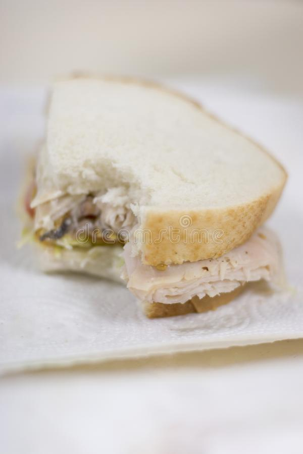 Download Sandwhich With Bite Taken Out Stock Image - Image: 2406145