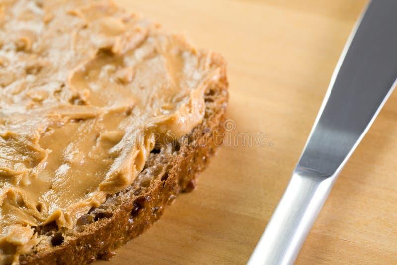 Sandwich à arachide. image libre de droits