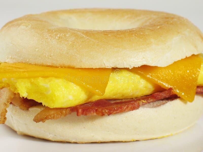 Sandwich à bagel image stock