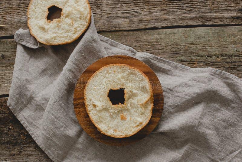 Sandwich à beignet photographie stock