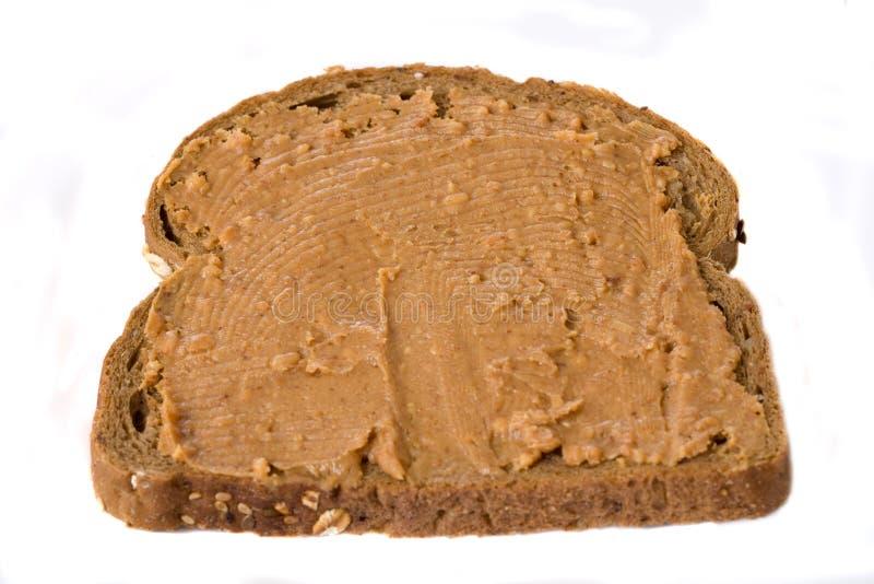 Sandwich à beurre d'arachide photographie stock