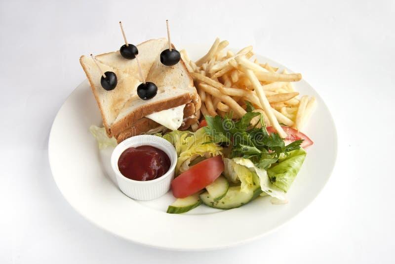 Sandwich à enfant photos stock