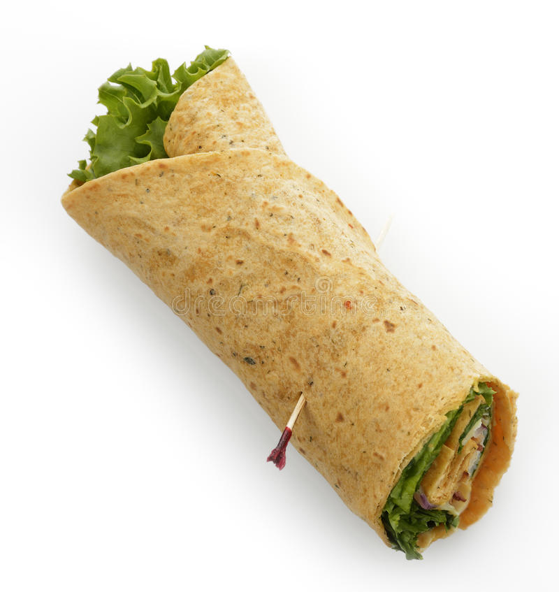 Sandwich à enveloppe de la Turquie photos libres de droits