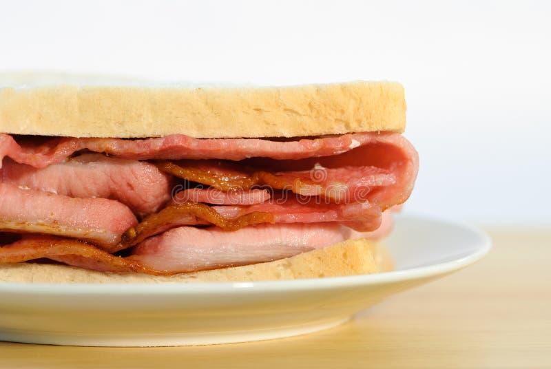 Sandwich à lard photos libres de droits