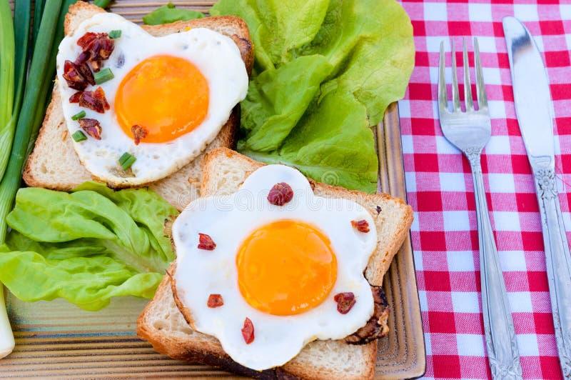 Sandwich à oeufs images stock