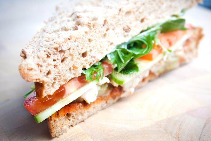 Sandwich à salade images libres de droits