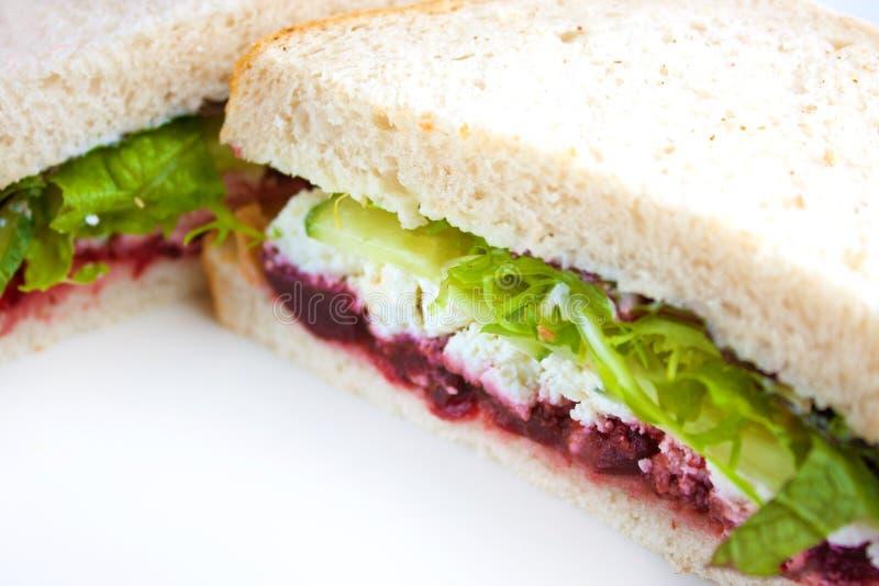 Sandwich à salade image libre de droits